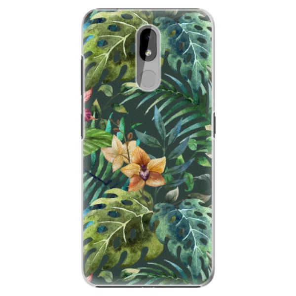 Plastové pouzdro iSaprio - Tropical Green 02 - Nokia 3.2