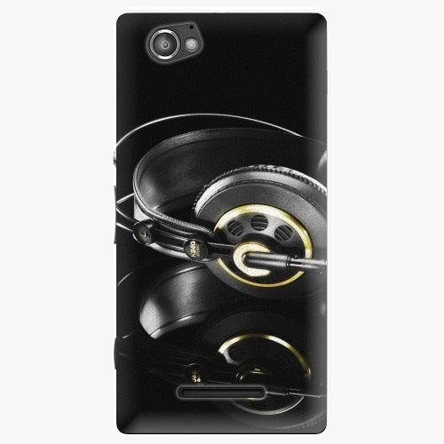 Plastový kryt iSaprio - Headphones 02 - Sony Xperia M