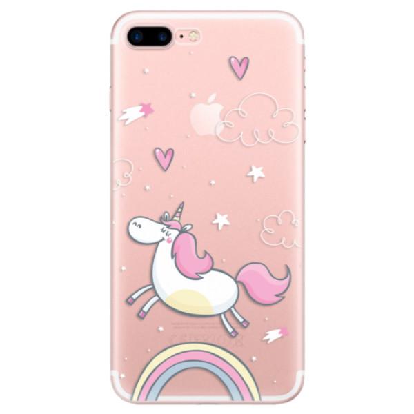 Odolné silikonové pouzdro iSaprio - Unicorn 01 - iPhone 7 Plus