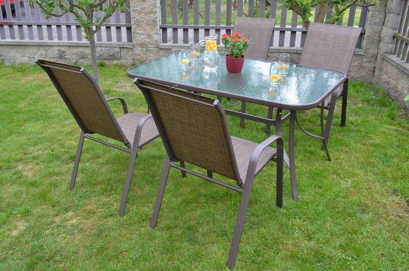 Set zahradního nábytku - Nerang Dark