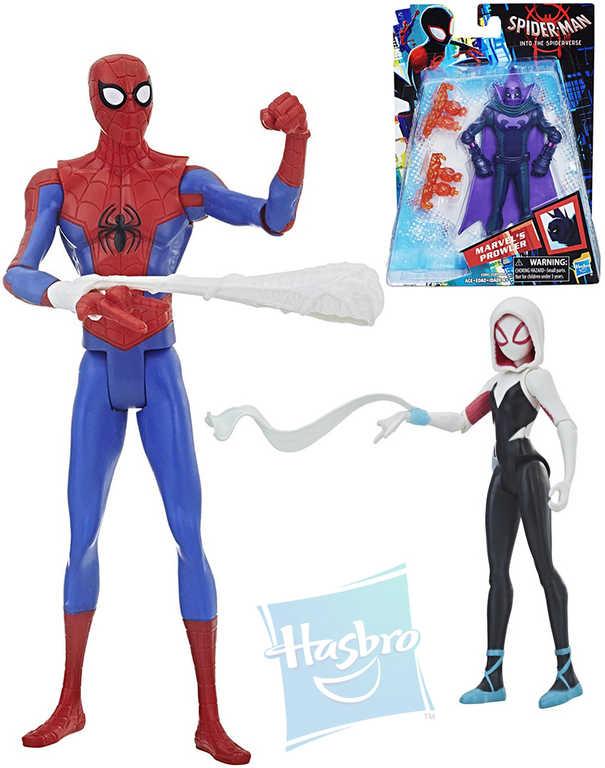 HASBRO Spiderman figurka 15 cm set s doplňkem - 4 druhy
