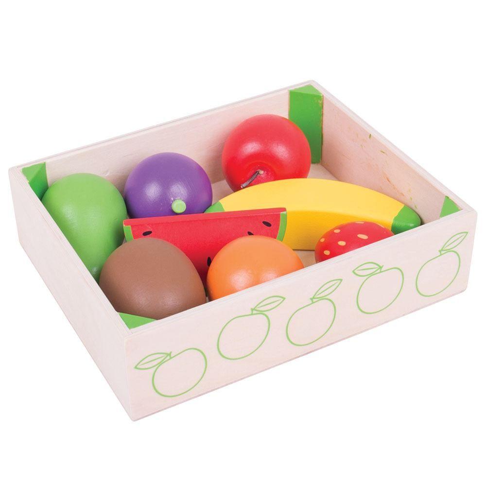 Bigjigs Toys Krabička s ovocem