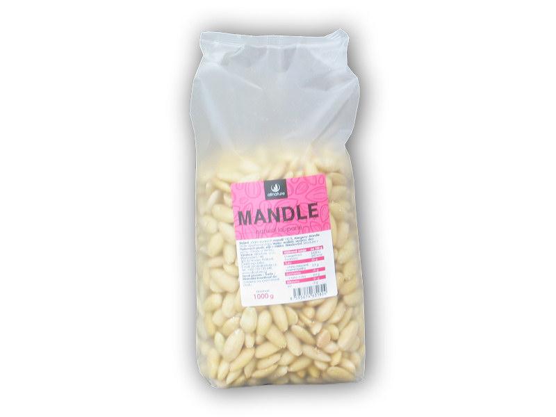Mandle jádra natural loupaná 1000g