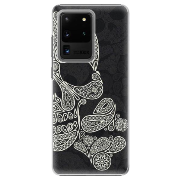 Plastové pouzdro iSaprio - Mayan Skull - Samsung Galaxy S20 Ultra