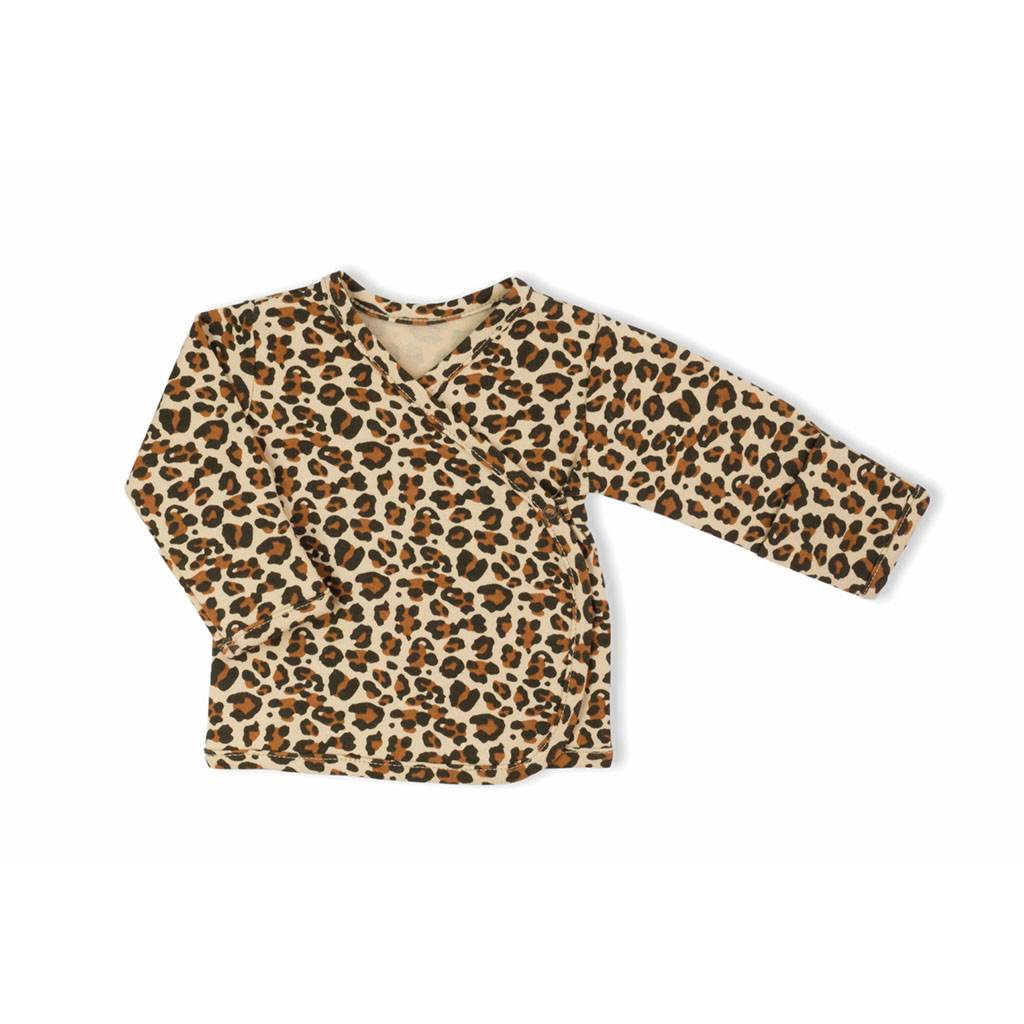 Kojenecká bavlněná košilka Nicol Mia
