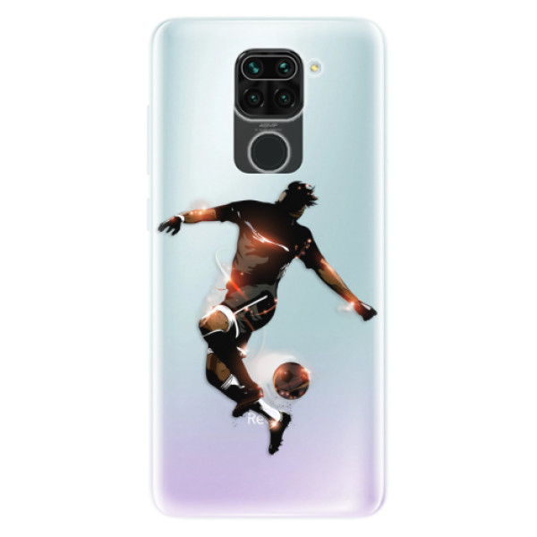 Odolné silikonové pouzdro iSaprio - Fotball 01 - Xiaomi Redmi Note 9