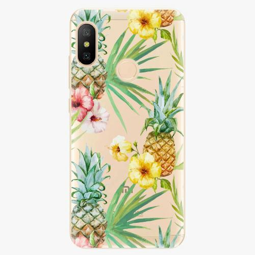 Silikonové pouzdro iSaprio - Pineapple Pattern 02 - Xiaomi Mi A2 Lite