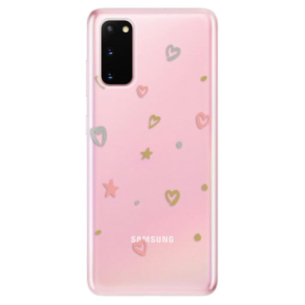 Odolné silikonové pouzdro iSaprio - Lovely Pattern - Samsung Galaxy S20