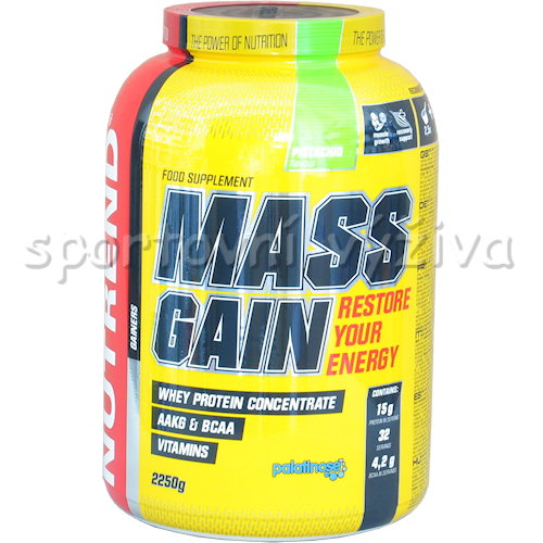 Mass Gain - 2250g-pistacie