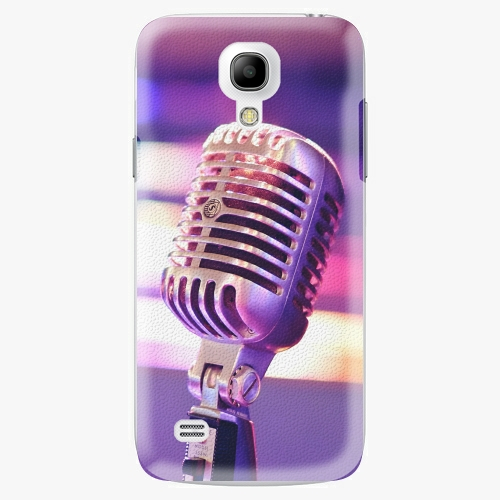 Plastový kryt iSaprio - Vintage Microphone - Samsung Galaxy S4 Mini