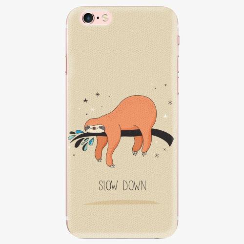 Silikonové pouzdro iSaprio - Slow Down - iPhone 7