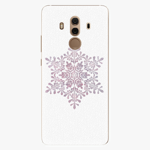 Plastový kryt iSaprio - Snow Flake - Huawei Mate 10 Pro