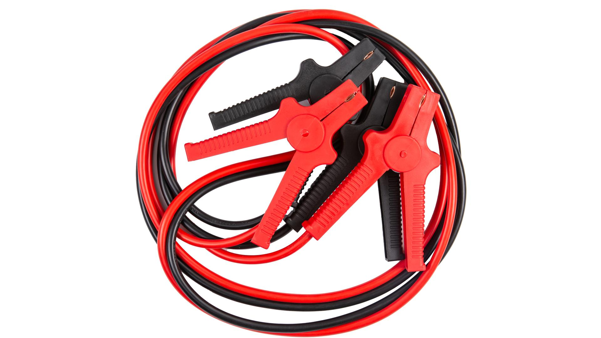 4 CARS Premium Jump start cable - DIN 72553 - Isolated clamps, thisckness 16.0MM², 3meters