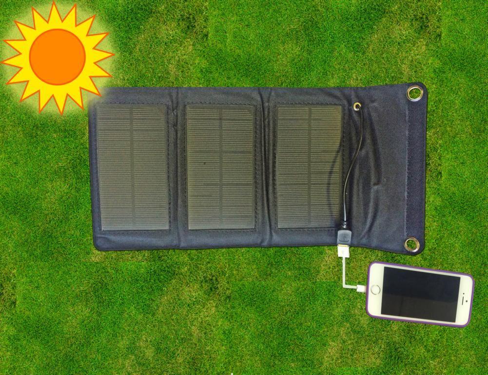 Solární nabíječka 5 w
