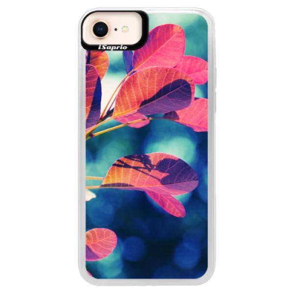 Neonové pouzdro Pink iSaprio - Autumn 01 - iPhone 8