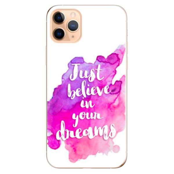 Odolné silikonové pouzdro iSaprio - Believe - iPhone 11 Pro Max