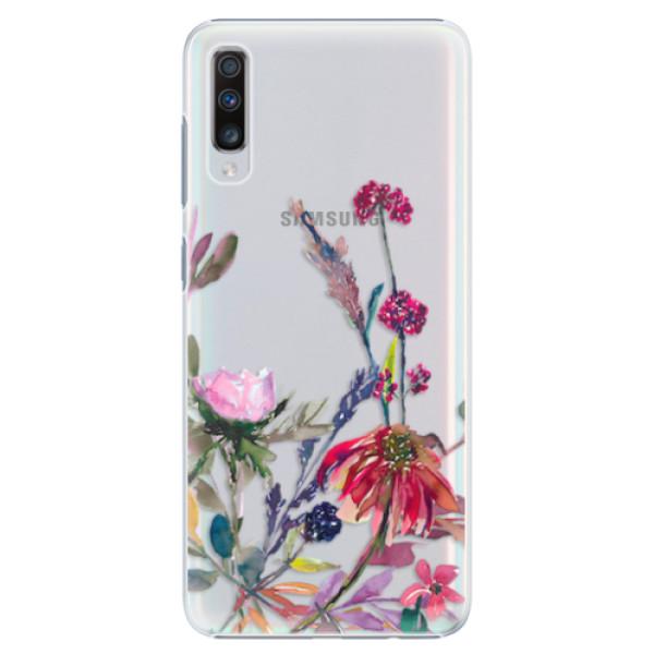 Plastové pouzdro iSaprio - Herbs 02 - Samsung Galaxy A70