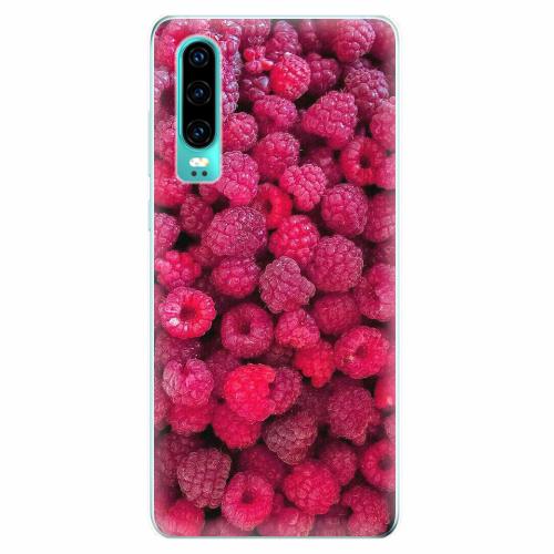 Silikonové pouzdro iSaprio - Raspberry - Huawei P30
