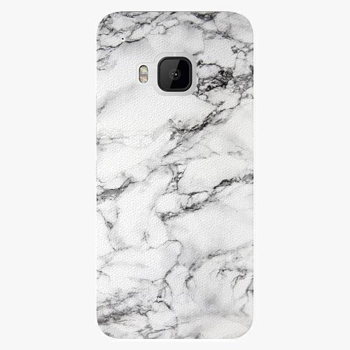 Plastový kryt iSaprio - White Marble 01 - HTC One M9