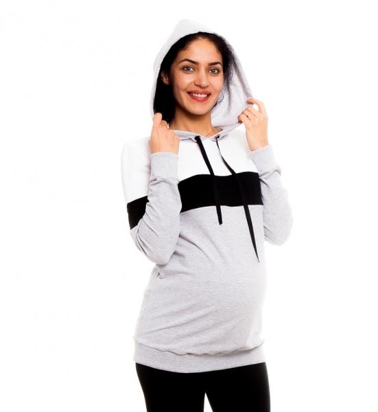 Be MaaMaa Těhotenské, kojící tričko/mikina Ivet