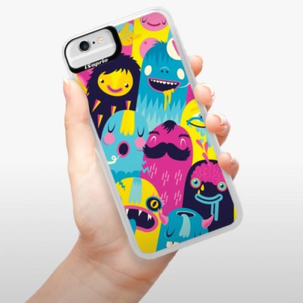Neonové pouzdro Blue iSaprio - Monsters - iPhone 6/6S