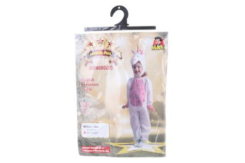 Šaty na karneval - jednorožec, 92 - 104 cm