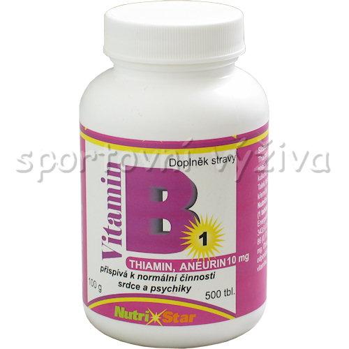 Thiamin vitamín B 1 10mg 500 tablet