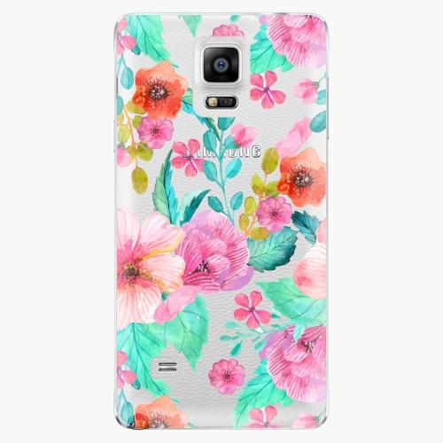 Plastový kryt iSaprio - Flower Pattern 01 - Samsung Galaxy Note 4
