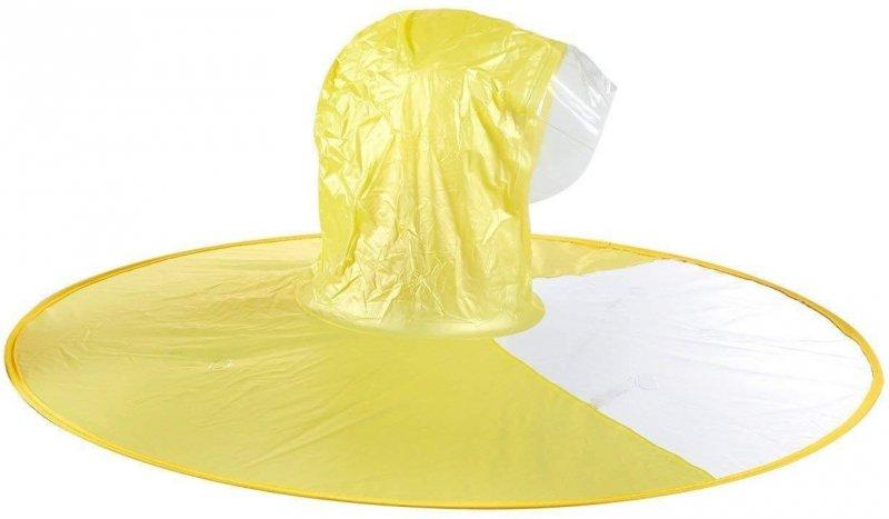 Handsfree pláštěnka na hlavu (L) - Žlutá