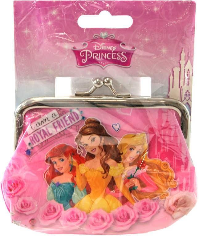 Peněženka dětská Disney Princezny růžová pro holčičky