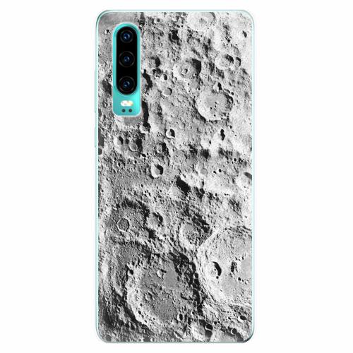 Silikonové pouzdro iSaprio - Moon Surface - Huawei P30