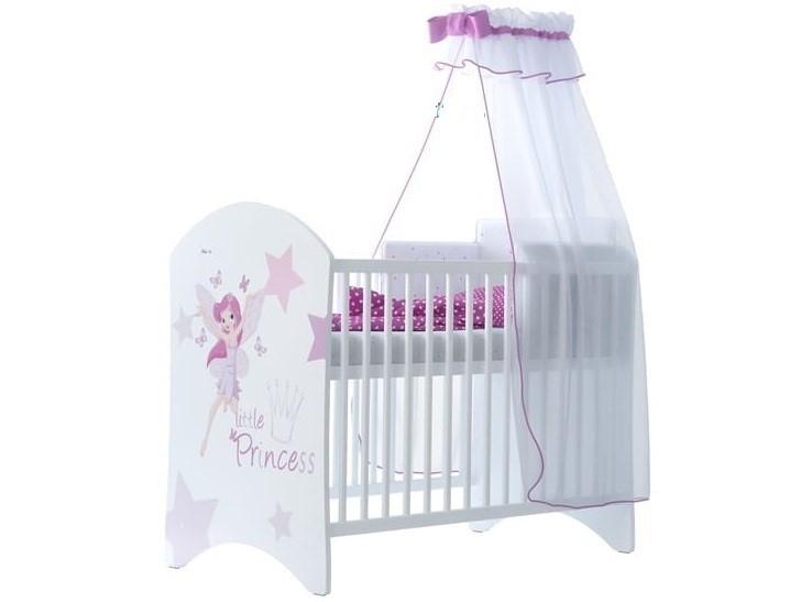 babyboo-detska-postylka-lux-s-motivem-little-princess-120-x-60-cm