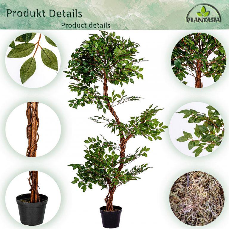 PLANTASIA Umělý strom - jerlín - 160cm