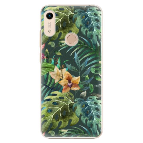 Plastové pouzdro iSaprio - Tropical Green 02 - Huawei Honor 8A