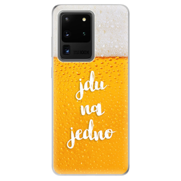 Odolné silikonové pouzdro iSaprio - Jdu na jedno - Samsung Galaxy S20 Ultra