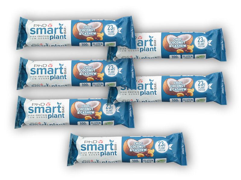 5x Smart Plant Bar 64g + 1x