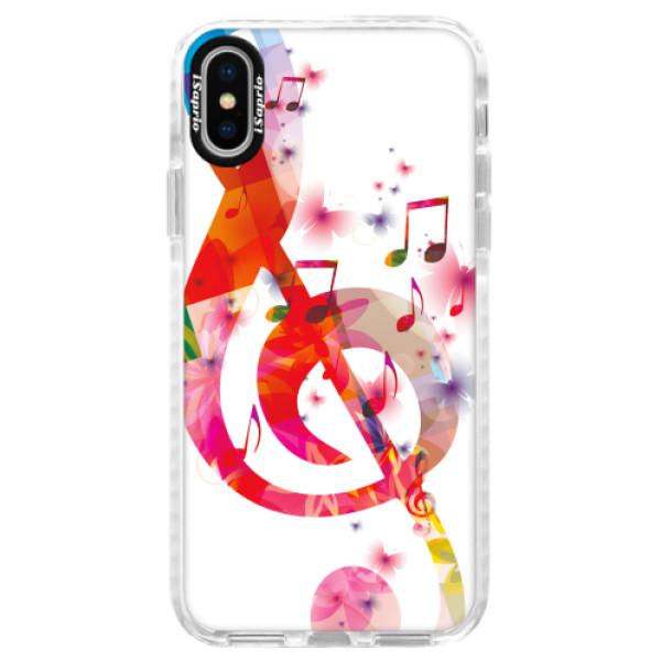 Silikonové pouzdro Bumper iSaprio - Love Music - iPhone X