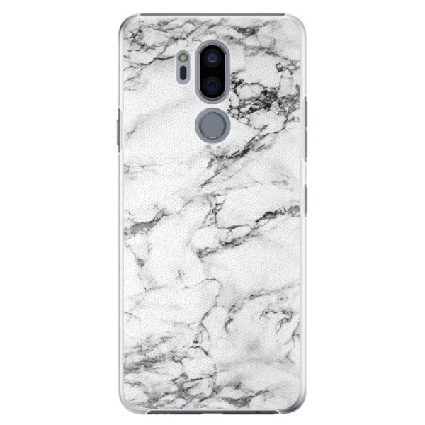Plastové pouzdro iSaprio - White Marble 01 - LG G7