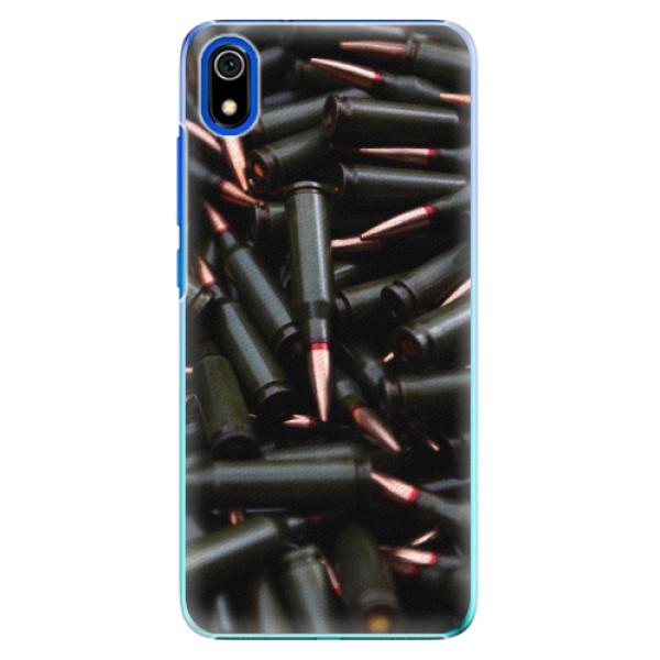 Plastové pouzdro iSaprio - Black Bullet - Xiaomi Redmi 7A
