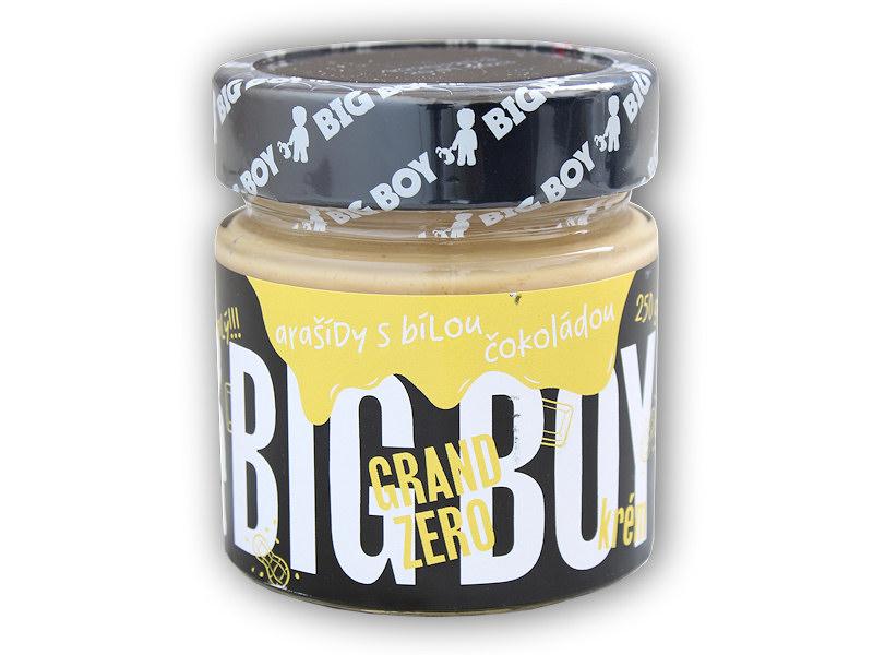 Grand zero <b>arašídový</b> krém bílá čokoláda 250g
