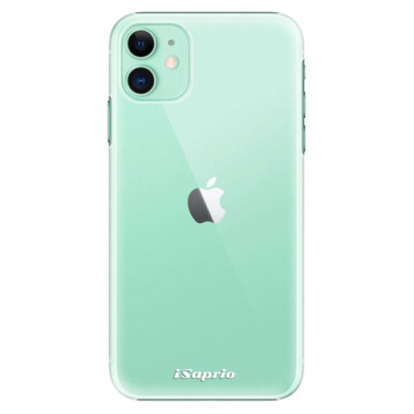 Plastové pouzdro iSaprio - 4Pure - mléčný bez potisku - iPhone 11