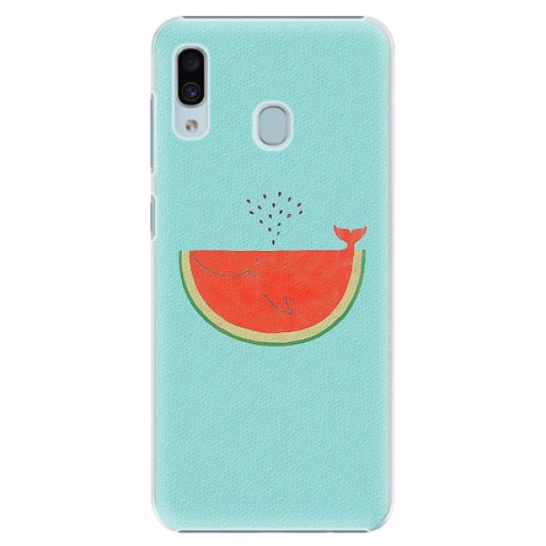 Plastové pouzdro iSaprio - Melon - Samsung Galaxy A30