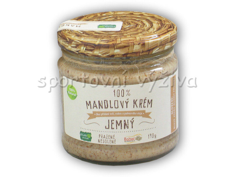 100% <b>mandlový</b> krém jemný 190g