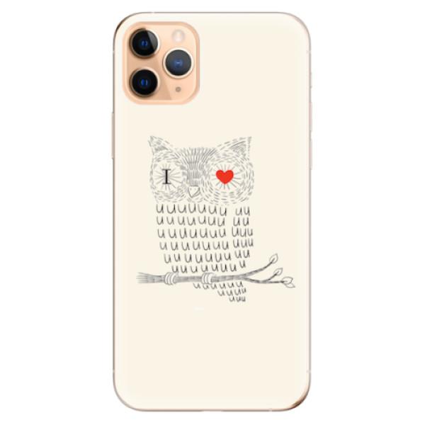 Odolné silikonové pouzdro iSaprio - I Love You 01 - iPhone 11 Pro Max