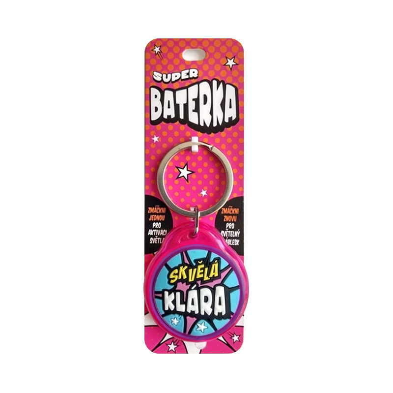 Super baterka - Klára