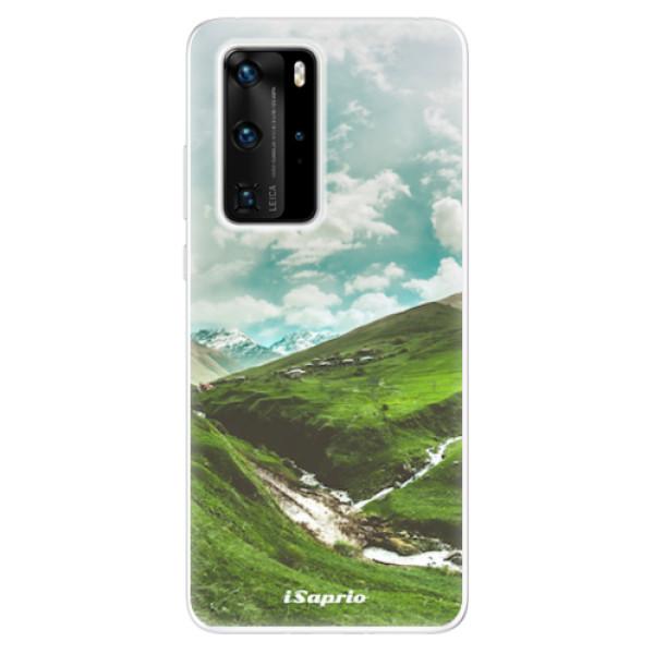 Odolné silikonové pouzdro iSaprio - Green Valley - Huawei P40 Pro