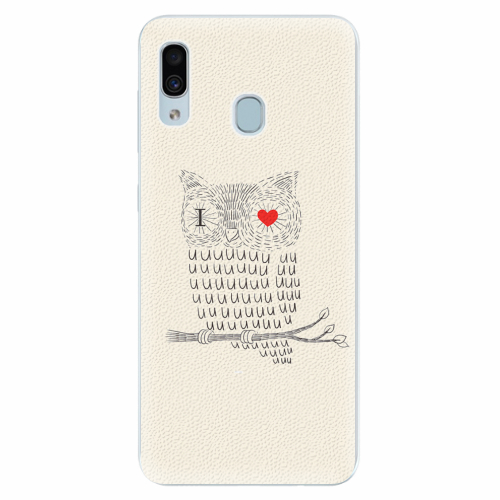 Silikonové pouzdro iSaprio - I Love You 01 - Samsung Galaxy A30
