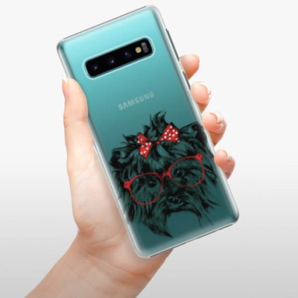 Plastové pouzdro iSaprio - Dog 03 - Samsung Galaxy S10