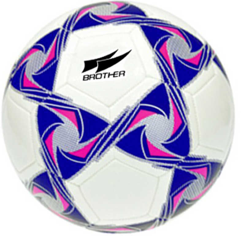 Brother míč fotbalový 420g bílo-modrý kopačák v sáčku