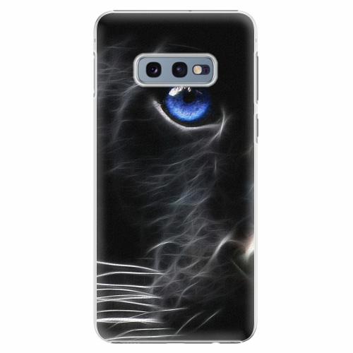 Plastový kryt iSaprio - Black Puma - Samsung Galaxy S10e